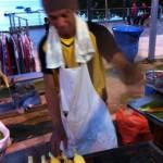 Majsgrillning på Pangkor Island