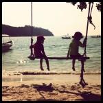 Relax på Pangkor Island