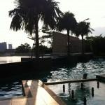 Hotellpoolen i Kuala Lumpur