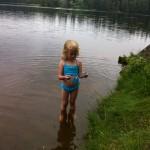 Ballasjön i maj